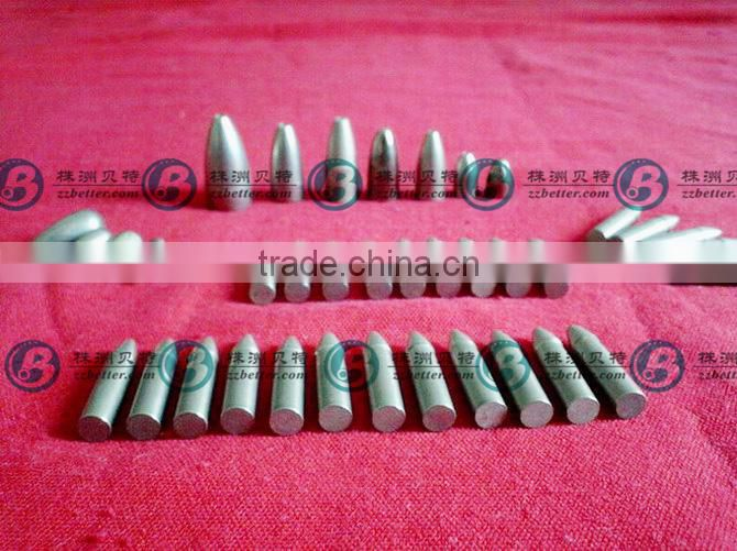 china supplier tungsten sinker moulds