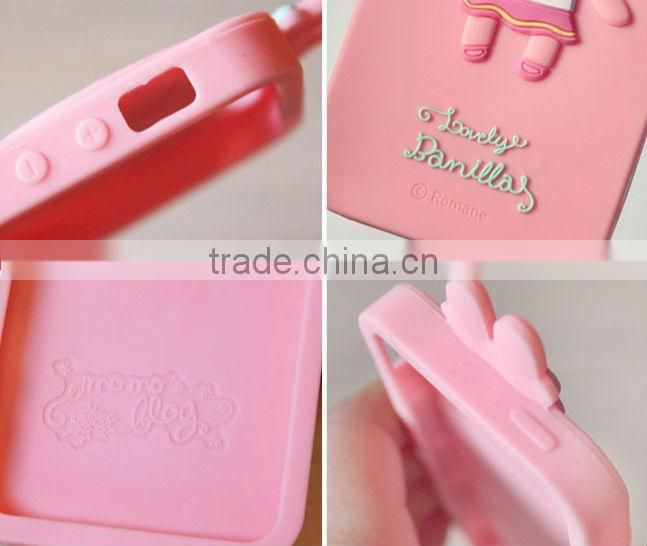 Vivid cartoon silicone phone case