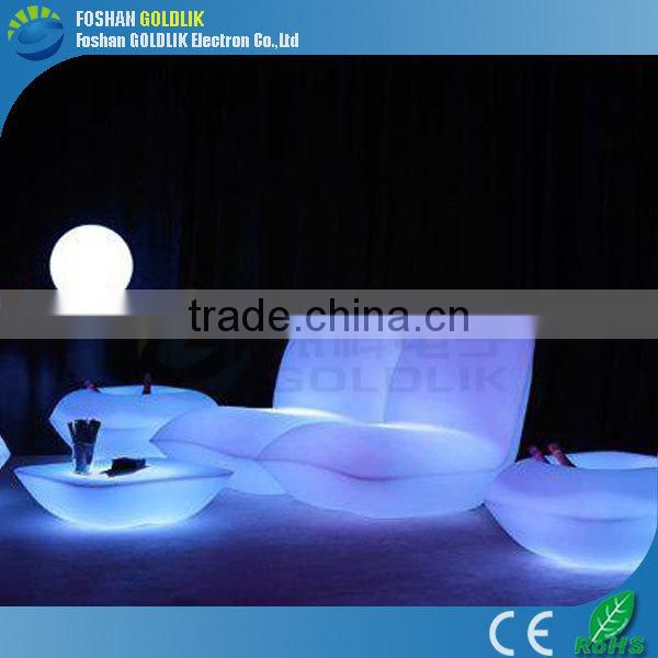 2014 Hot Sale Furniture Colorful Lighting Indoor LED Light Coffee Table