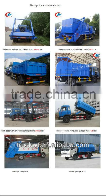truck mounted sweeping machine