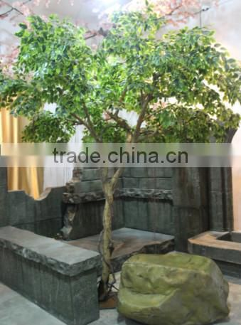factory price hot sale fiberglass small banyan tree artificial tree sale