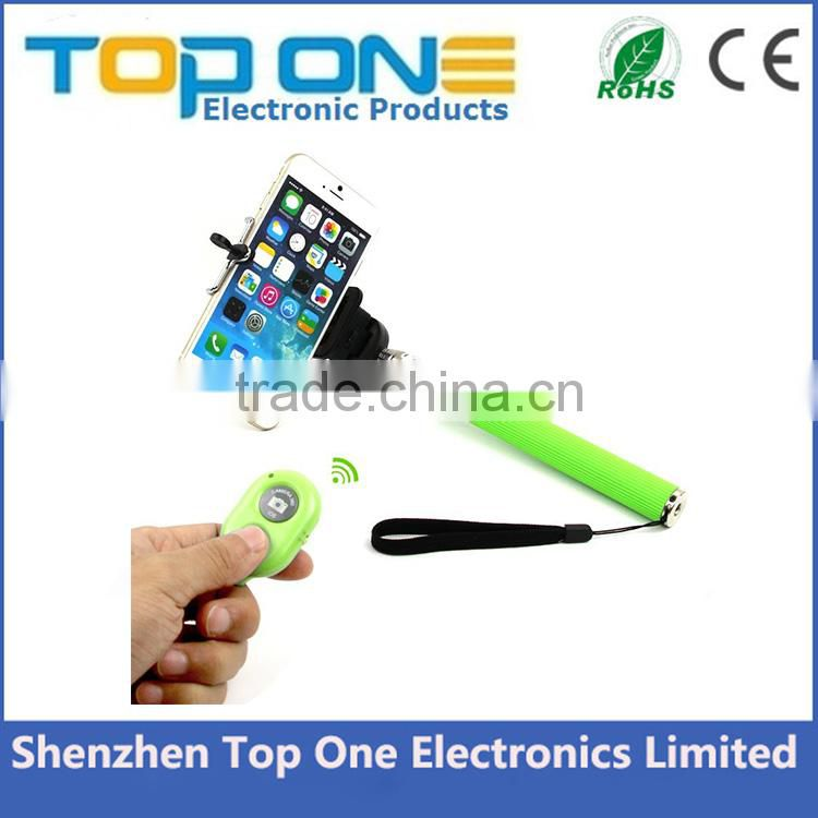 Most popular take pole bluetooth selfie stick monopod