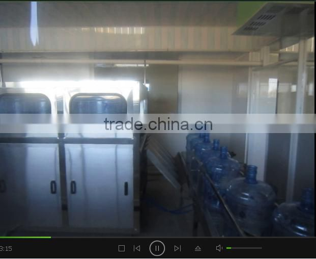 Mineral Water Filling Machine 240BPH 2 rows