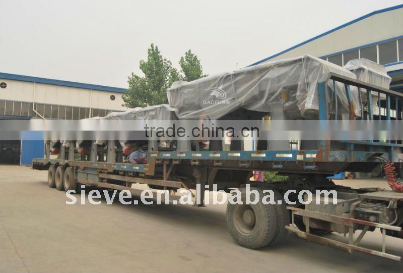 granule screener machine for silica sand