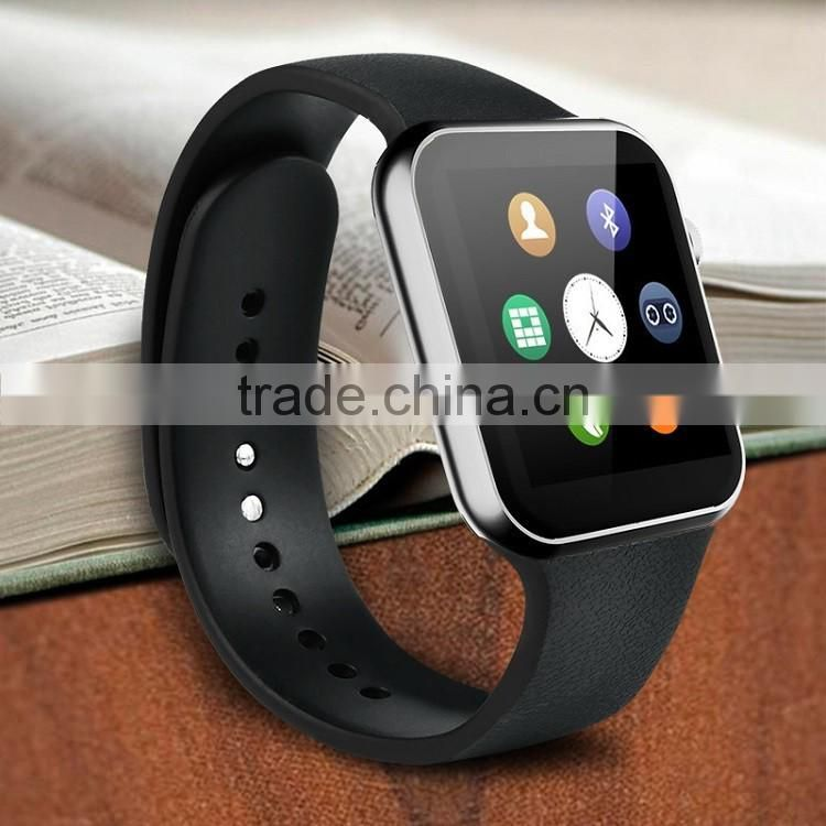 2015 new innovate hot sale A9 bluetooth smart watch for apple andriod phone
