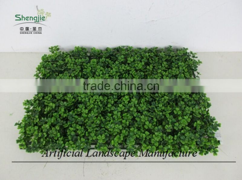 artificial boxwood carpet ,green wall hedge decoration