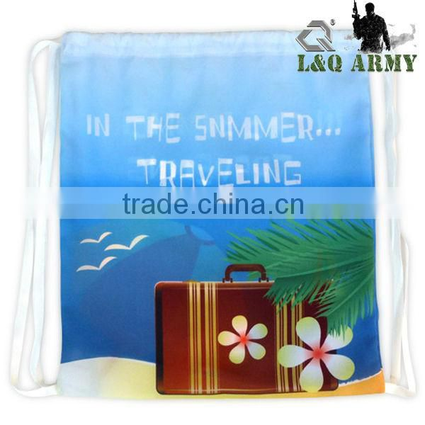 Cute Sublimation Backpack Drawstring Backpack