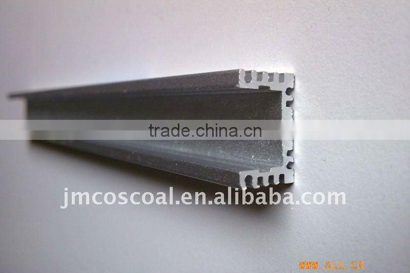 6061 aluminum U channel with high machining and anodizing