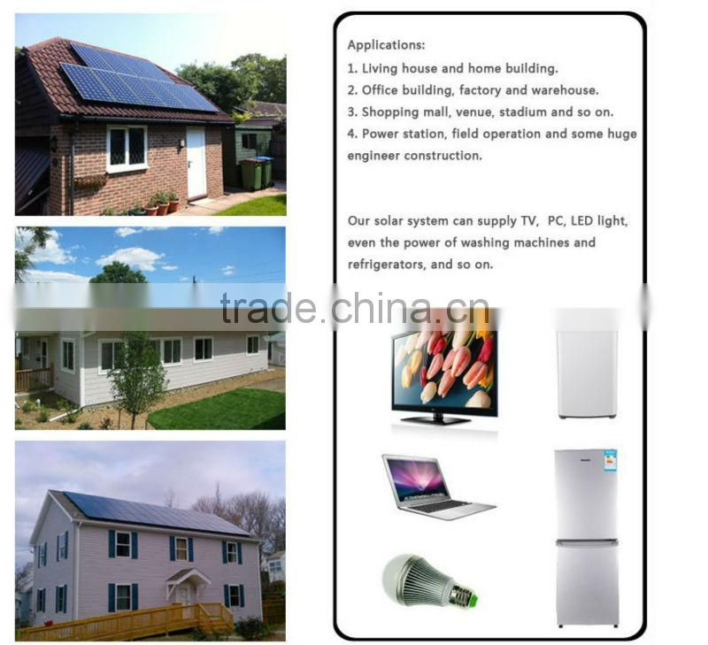 Bestsun High quality off grid auto switch 5000W solar energy water heater system