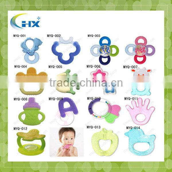 BPA Free Silicone Baby Teething Necklace Wholesale
