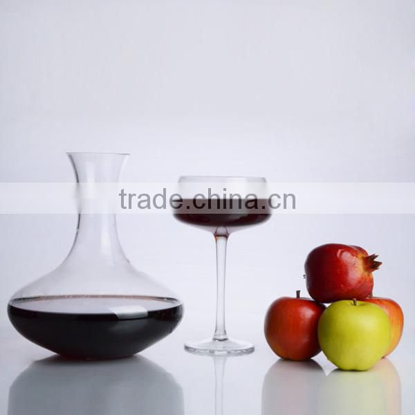 set 6 Luxury Wine Glass Bottle with four glass cups