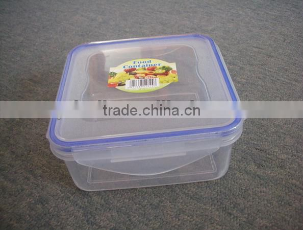 plastic kitchen plastic square food storage container 850ml
