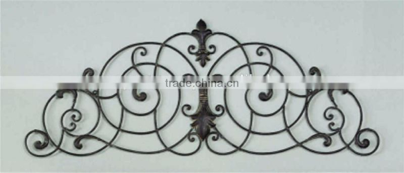 antique fancy wall mirror tealight candle