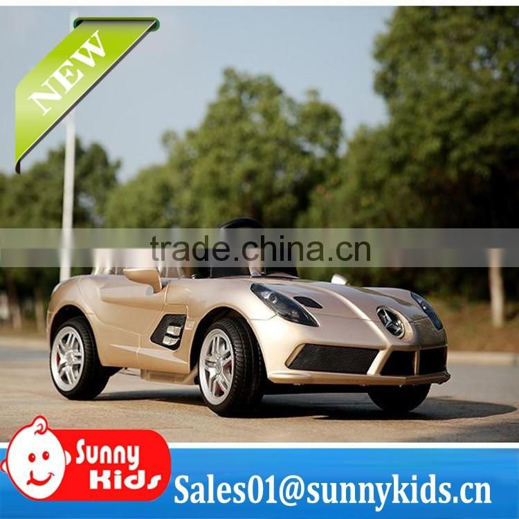 Licensed McLaren Mercedes Benz SLR Roadster ride on cars with rubber tyres
