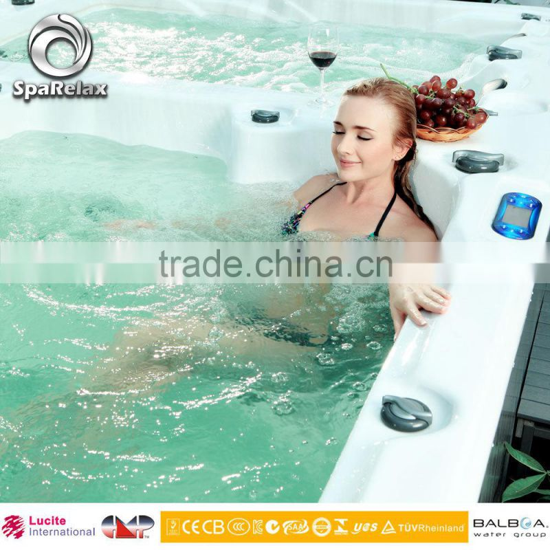 2017 Shenzhen China Supply Massage Two Lounge Hot Tub