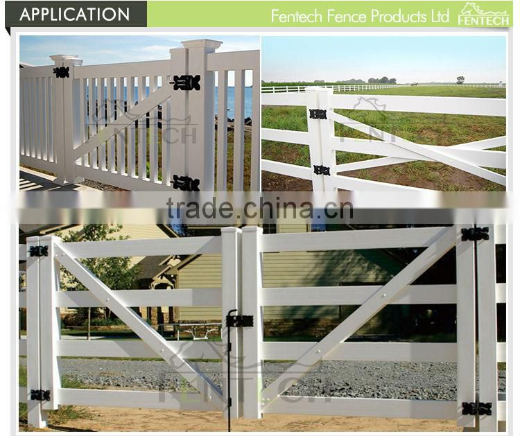Made in China Fentech High Quality Black and White Stainless steel Gate Latch