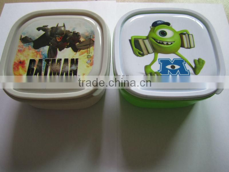 hamburger lunch box