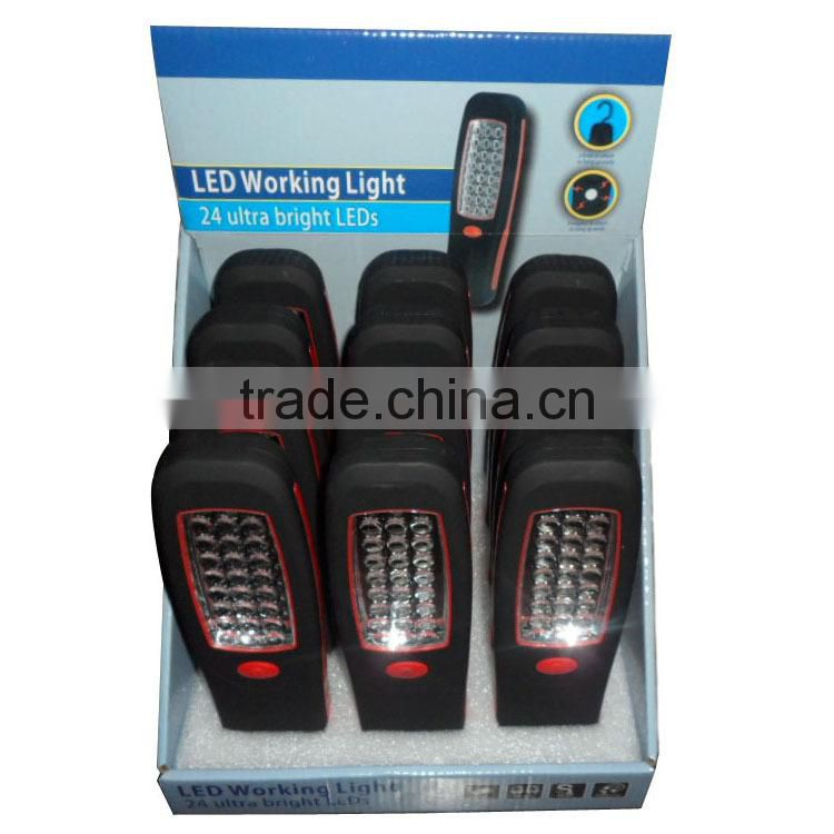 China factory supply cheapest 24 LED ultra bright led working light emergency work light