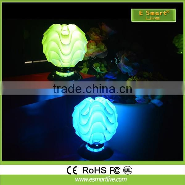 Wholesale illuminated led 16 color change light up waterdrop shape outdoor / table lamp