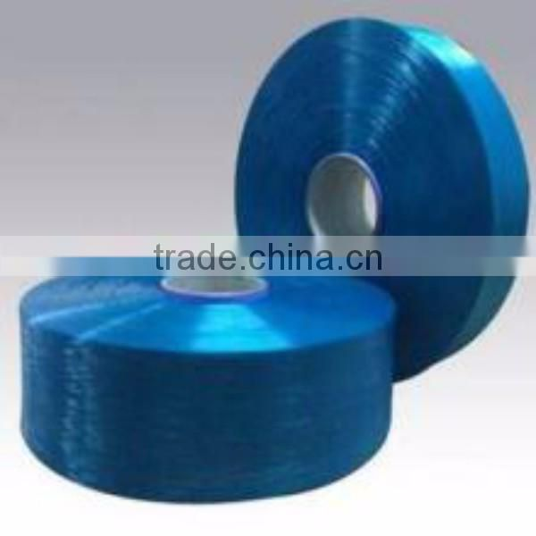 China Xiamen supplier shoes upper polyester spandex yarn
