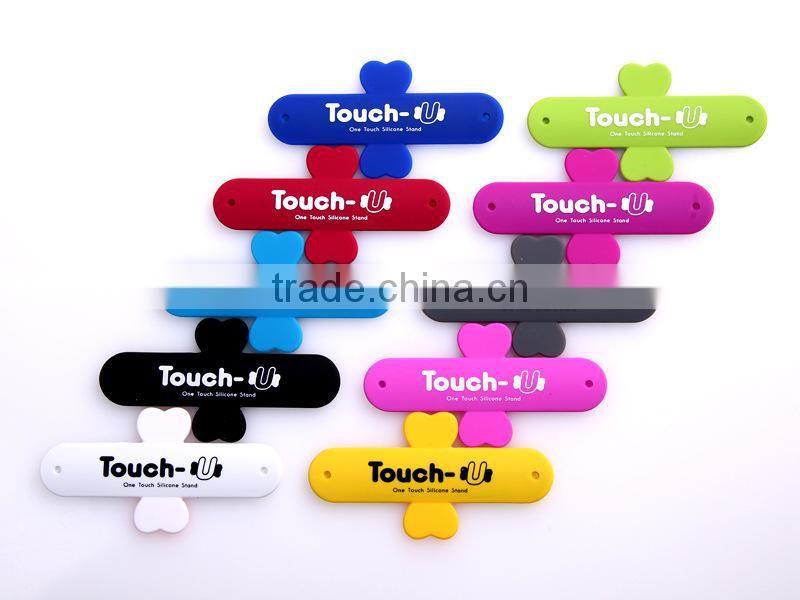 2014 silicone One-touch smartphone Holder