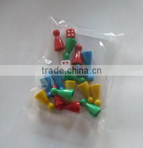 wholesale board game pieces--Dice,plastic pieces,replacement money