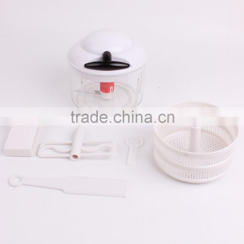 Hot selling hand held Vegetable Processing Machines manual mini food processor