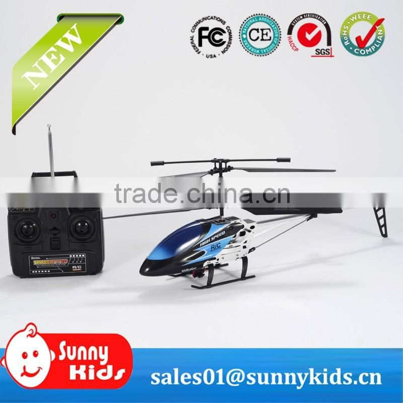 3.5ch metal rc digital proportional rc helicopter plane with gyro for children