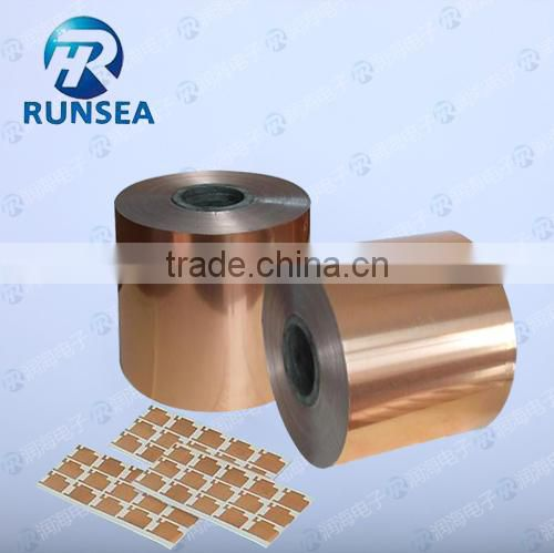 antistatic acrylic Copper foil adhesive tape / copper foil tape for soldering /