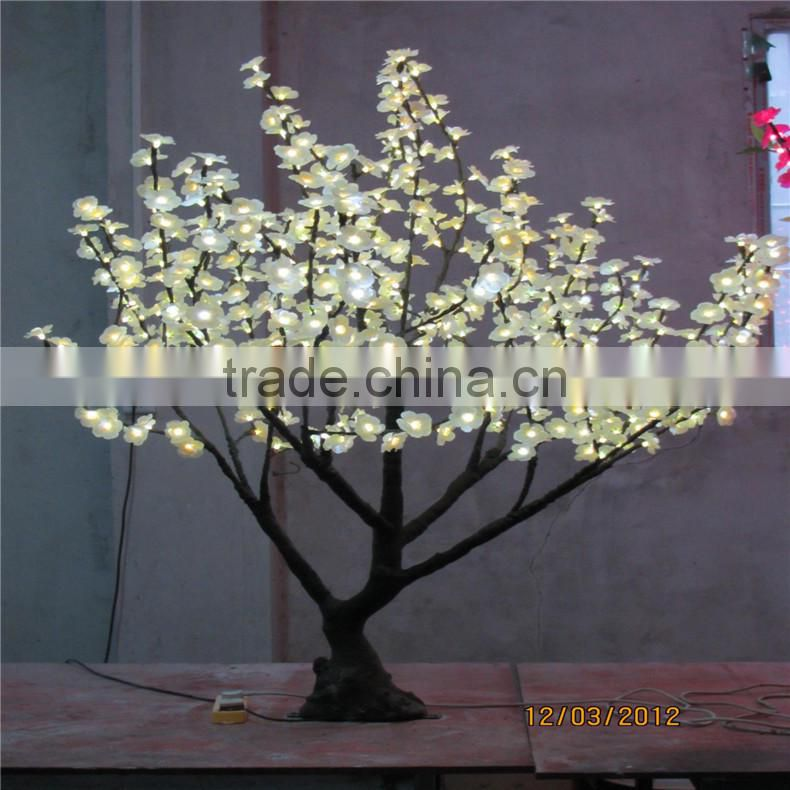 LED flower tree with pink flowers artificial led cherry blossom tree 24V led trees for outdoor decor