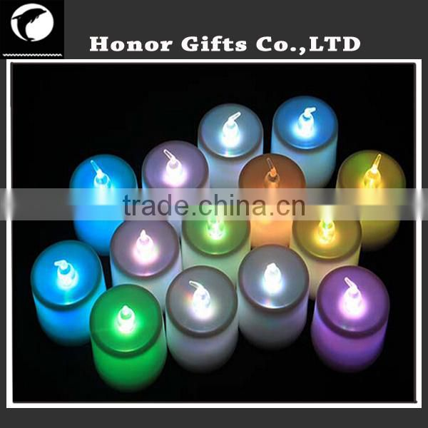 LED Christmas Acrylic Candle Light Motif Light