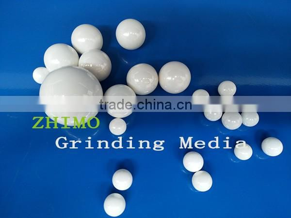 0.6-0.8 mm zirconia beads for chemical slurry milling