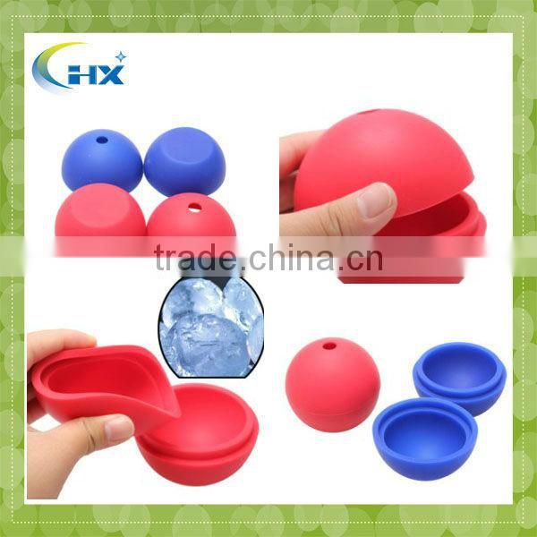 MA-1122 2013 Novelty Silicone Ice Ball ,Europe Use Ice Cube Ideal For Drinkers Drinking Whisky