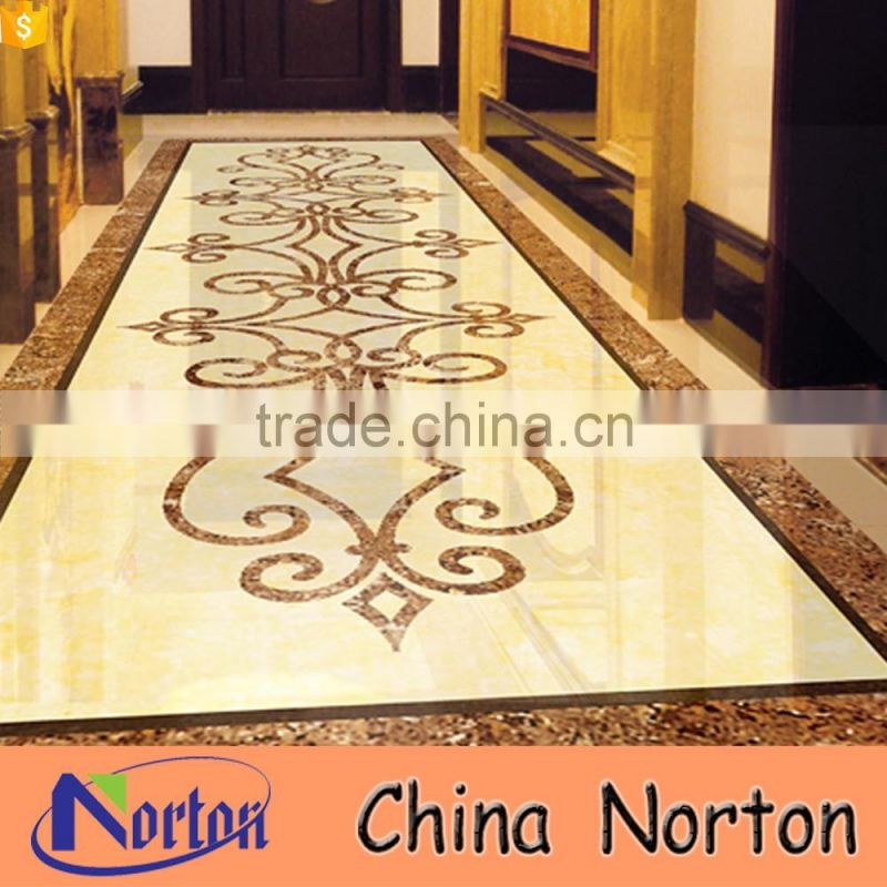 Simple round design marble medallion floor pattern NTMS-MM017A