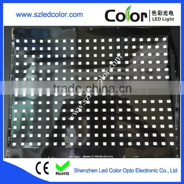 apa102 build-in ic high resolution flexible led display