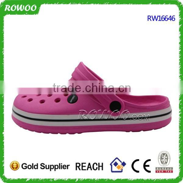 ladies Fashion classic EVA pink eva garden shoes china