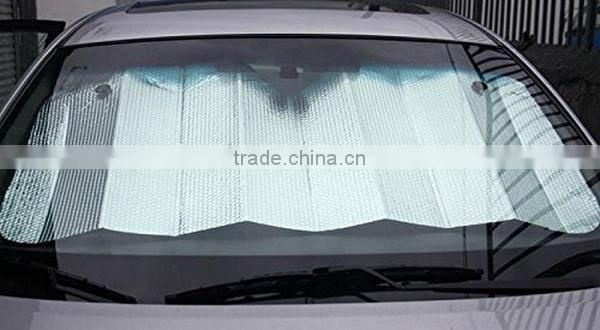 Custom printing car windshield window cover funny aluminum foldable car sunshade