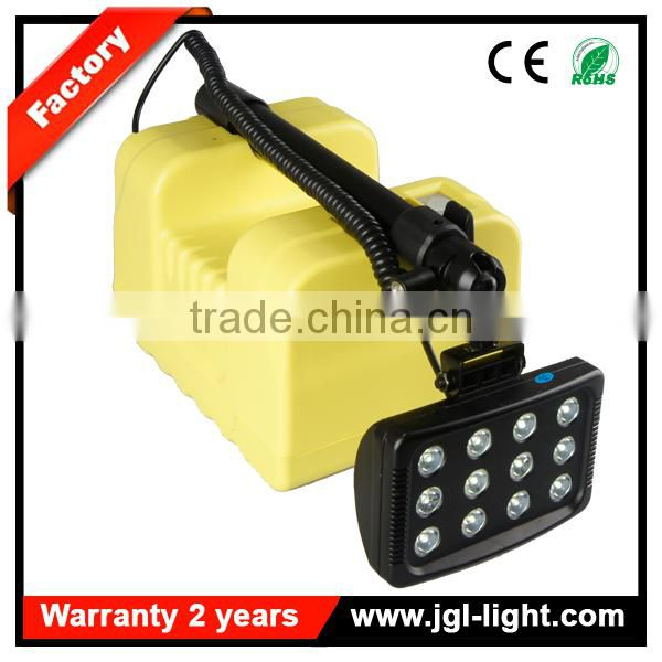 High power cordless led portable explosion proof portable light tower with Low Battery Warning