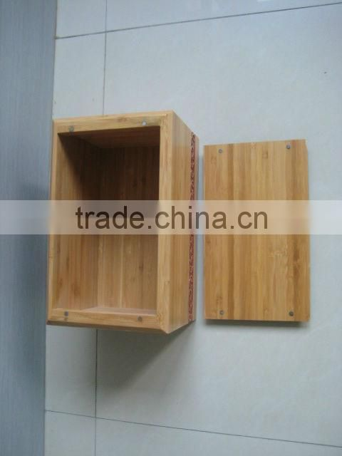 100% Solid Bamboo material handmade adult funeral urn for cremation