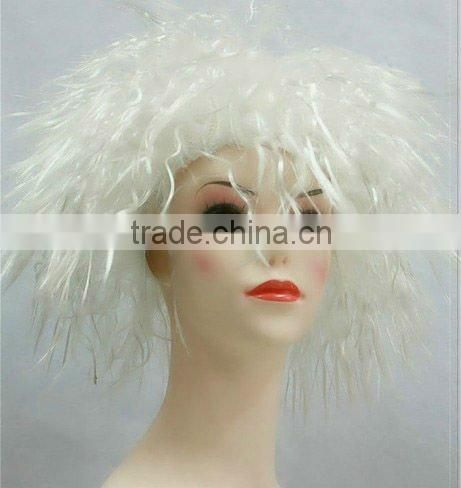 blue lace front wig cheap colorful party wig