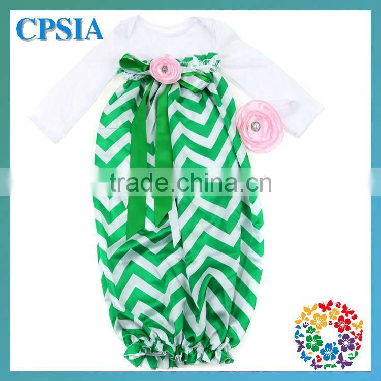 SO HOT!!! Newest Chevron wholesale sleeping bags sleep sack cotton Infant nightgowns