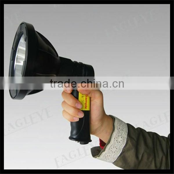12v high power led searchlight Portable search light hand held LED Rechargeable 10w cree spotlight lampa