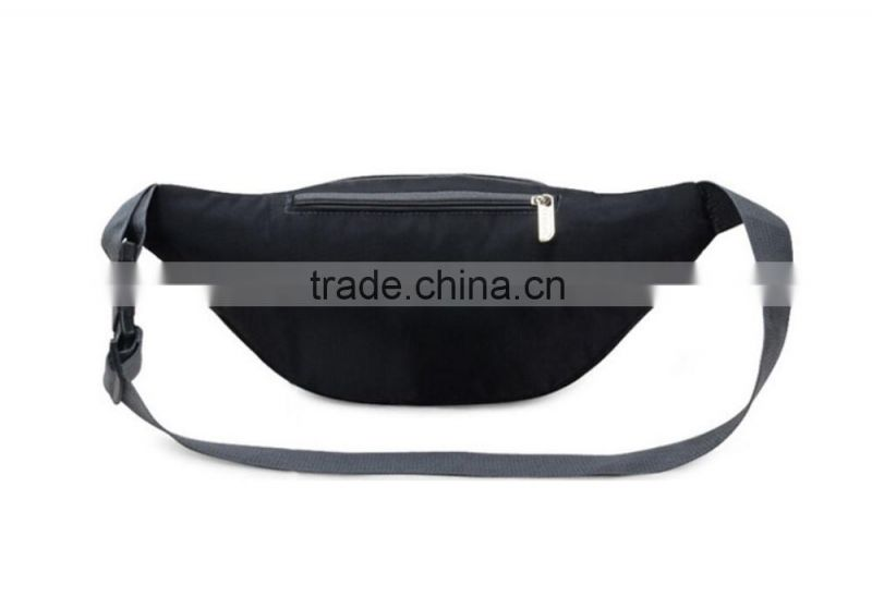 Useful black Color Fashion Sport Waist Bag