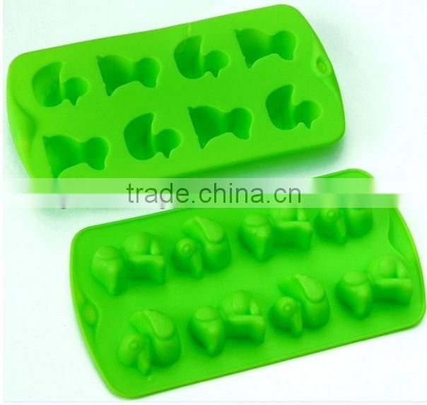 manufacture Eco-friendly strip shape silicone ice cube tray
