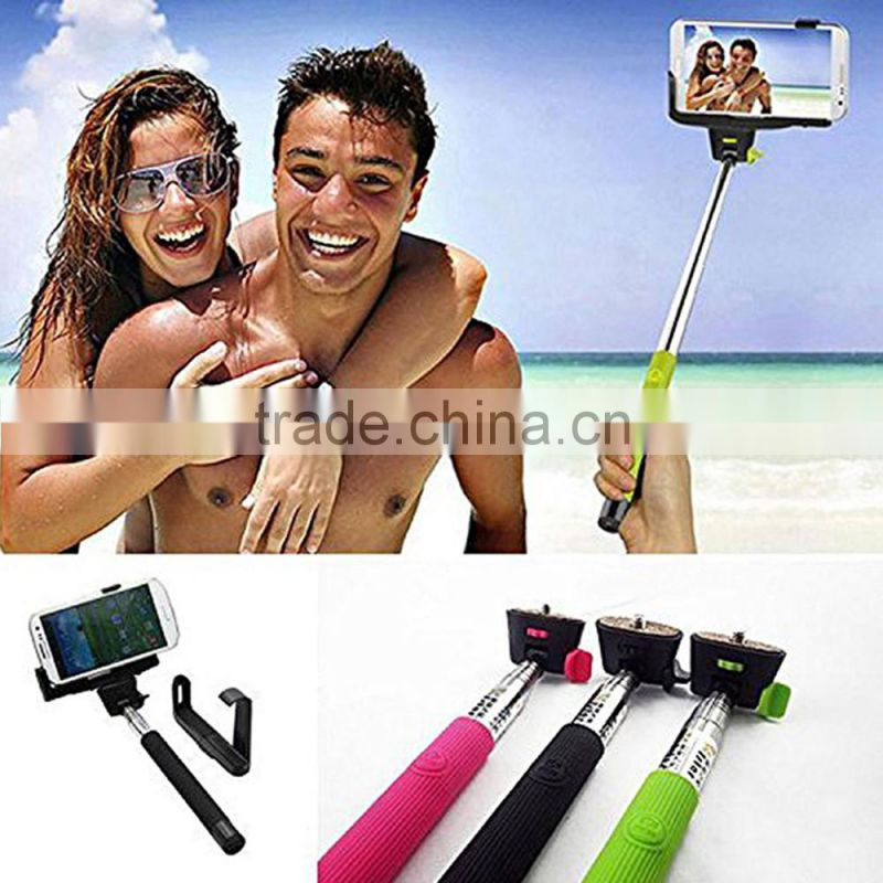Wholesale Wireless Selfie Stick With Bluetooth Shutter Button z07-5 bluetooth selfie stick