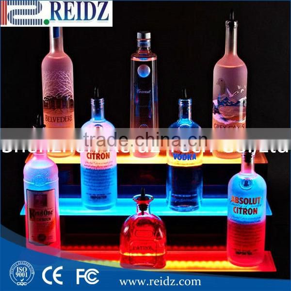 led illuminated bottle display