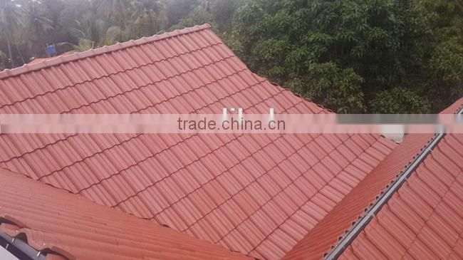 Professional ceramic tile roof, low price corrugated building material