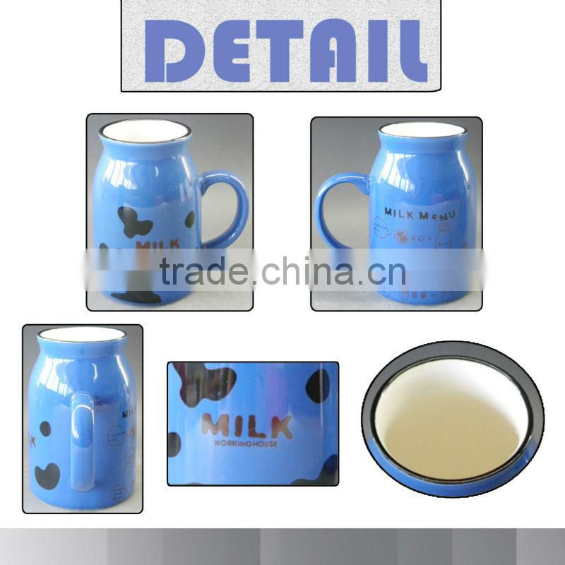 Newest OX design Milk Reusable Mug