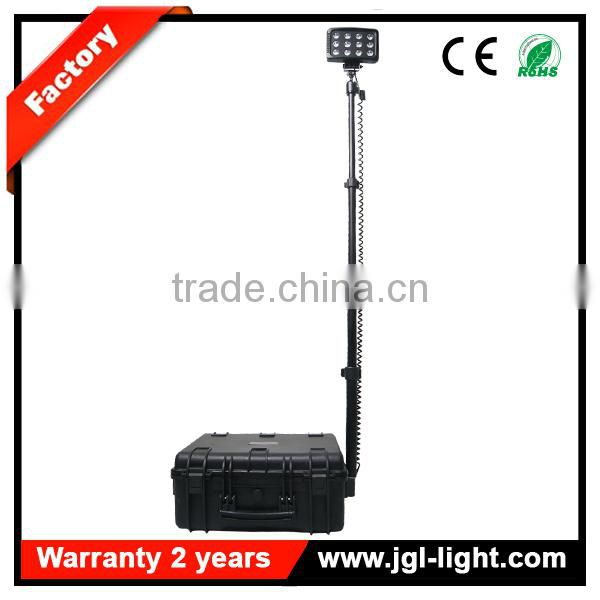 led remote area lighting system floodlight 5JG-RLS936L Portable mobile led floodlight for military
