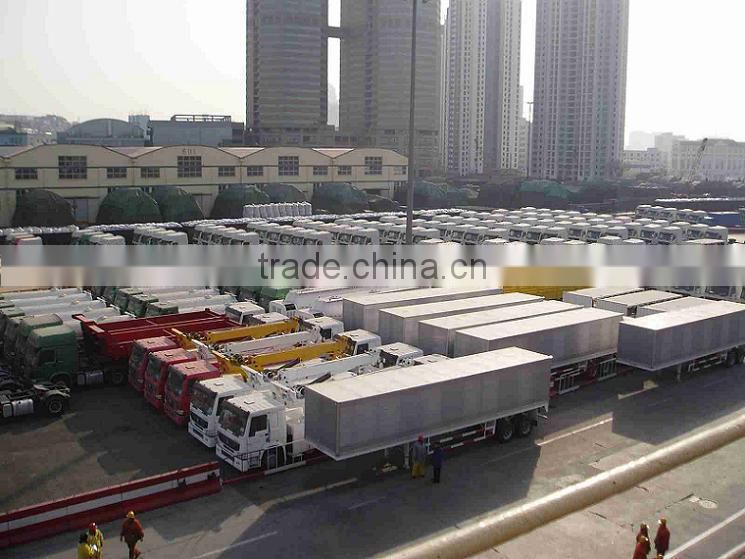 China HOHAN 8X4 composite cargo truck for sale